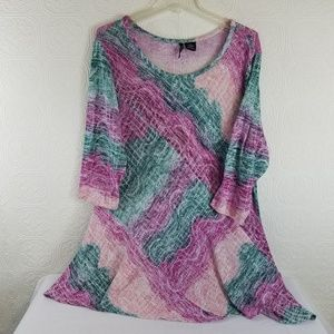 New Directions Multi Color Sweater